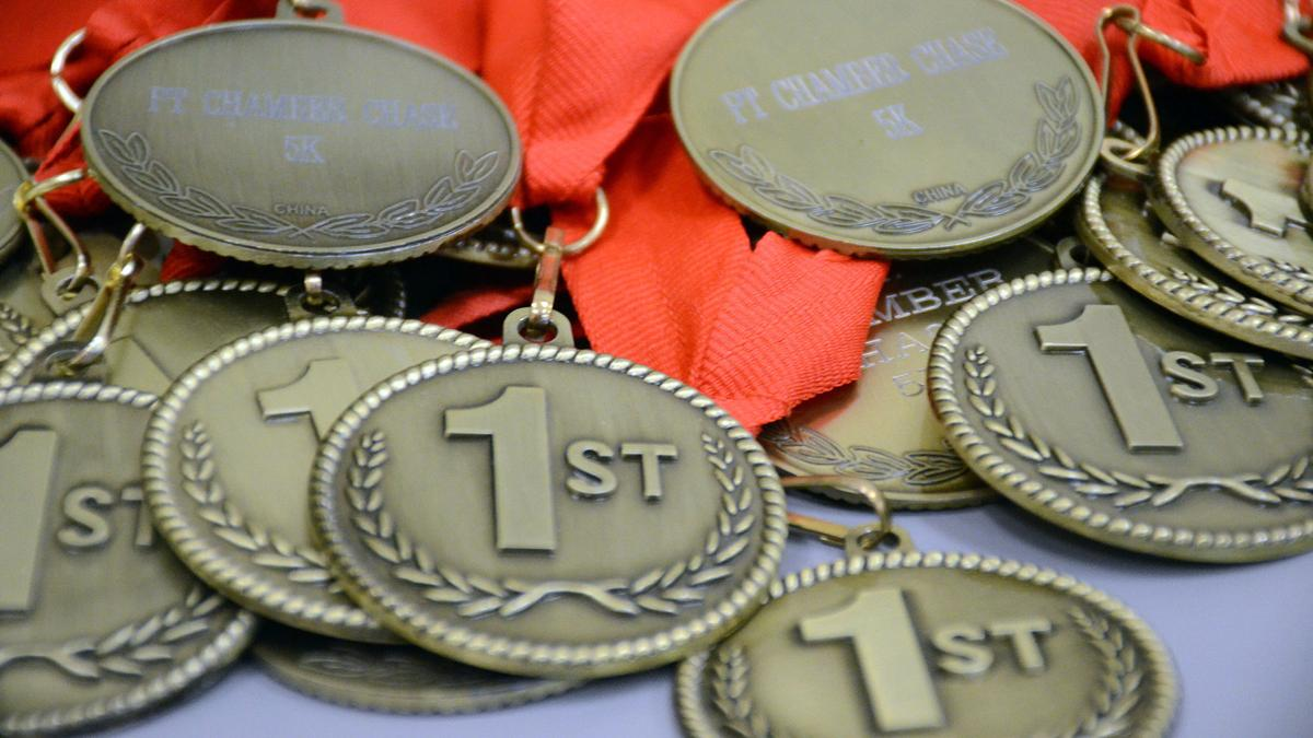 Chamber Chase medals