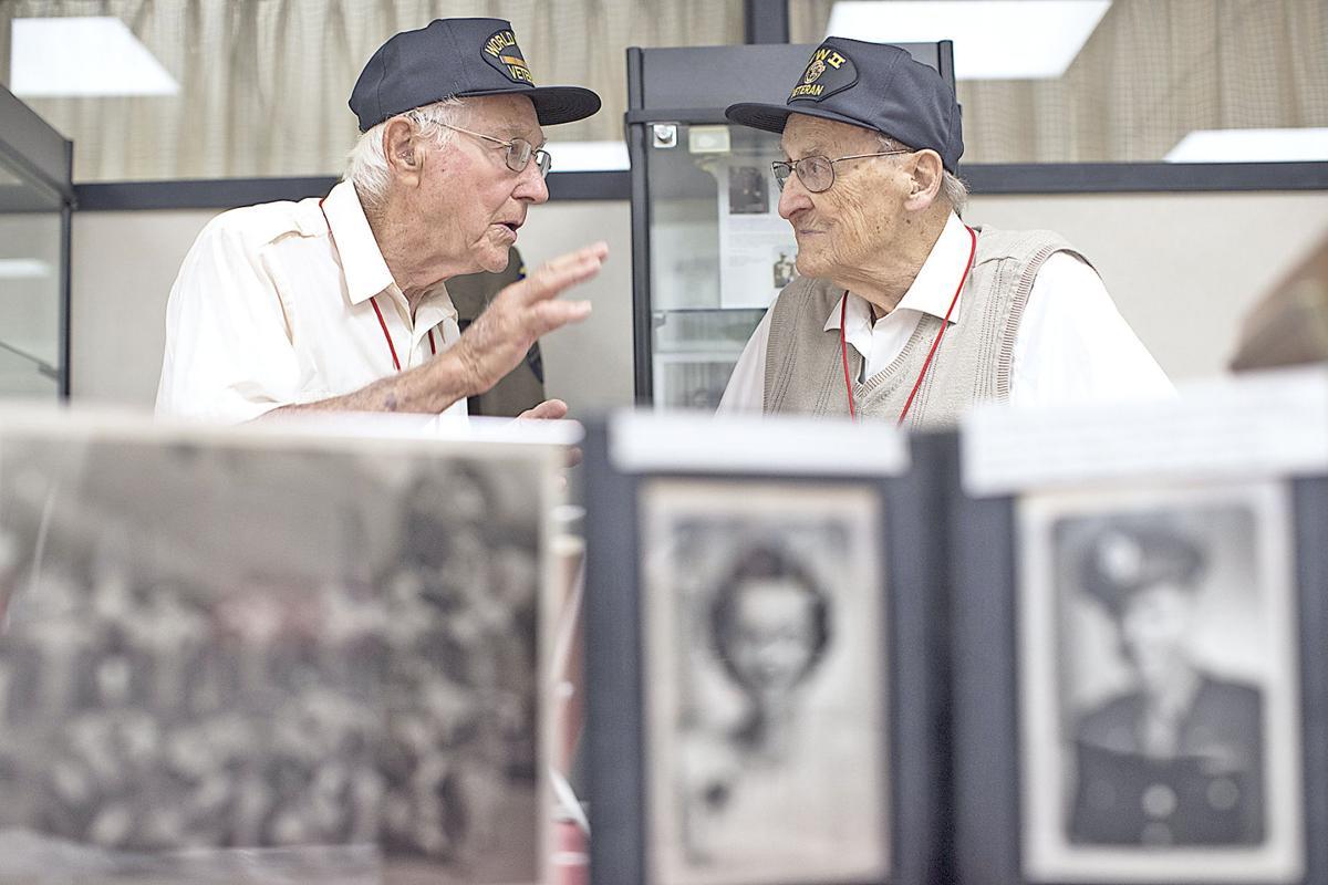 World War II exhibit at Cal U.