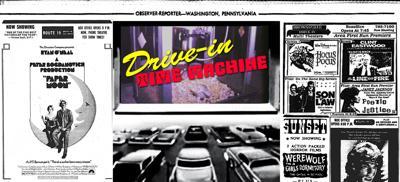 Drive-In Time Machine Logo - July 2018 Week 4