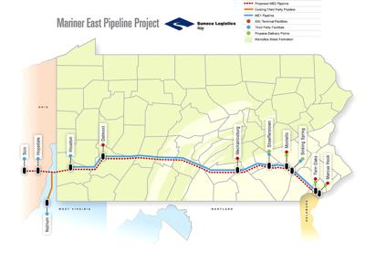 Mariner East 1 pipeline completed; now shipping ethane, propane