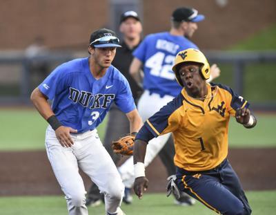 NCAA Duke West Virginia Baseball