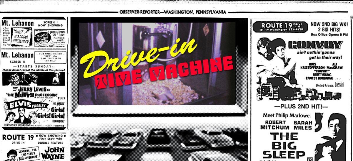 Drive In Time Machine logo - July Week 2