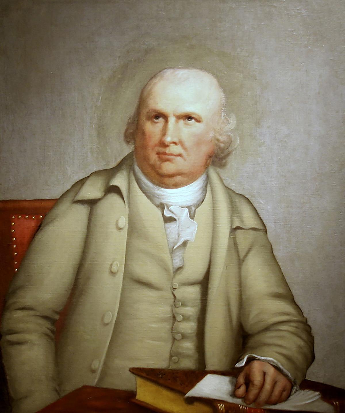 Robert Morris painting