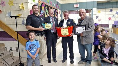 Police honored