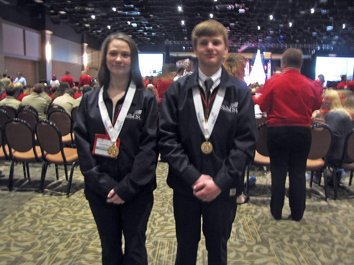 First-place SkillsUSA winners