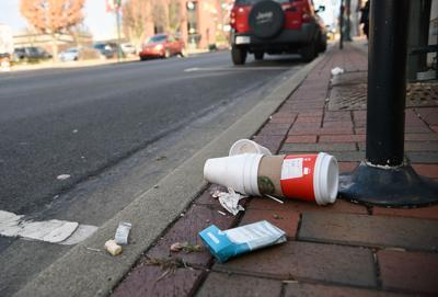 Litter sullies city