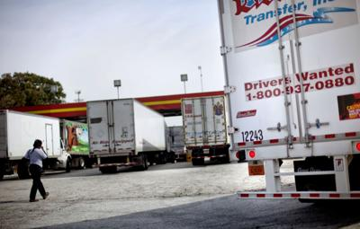 Truck driver jobs hard to fill