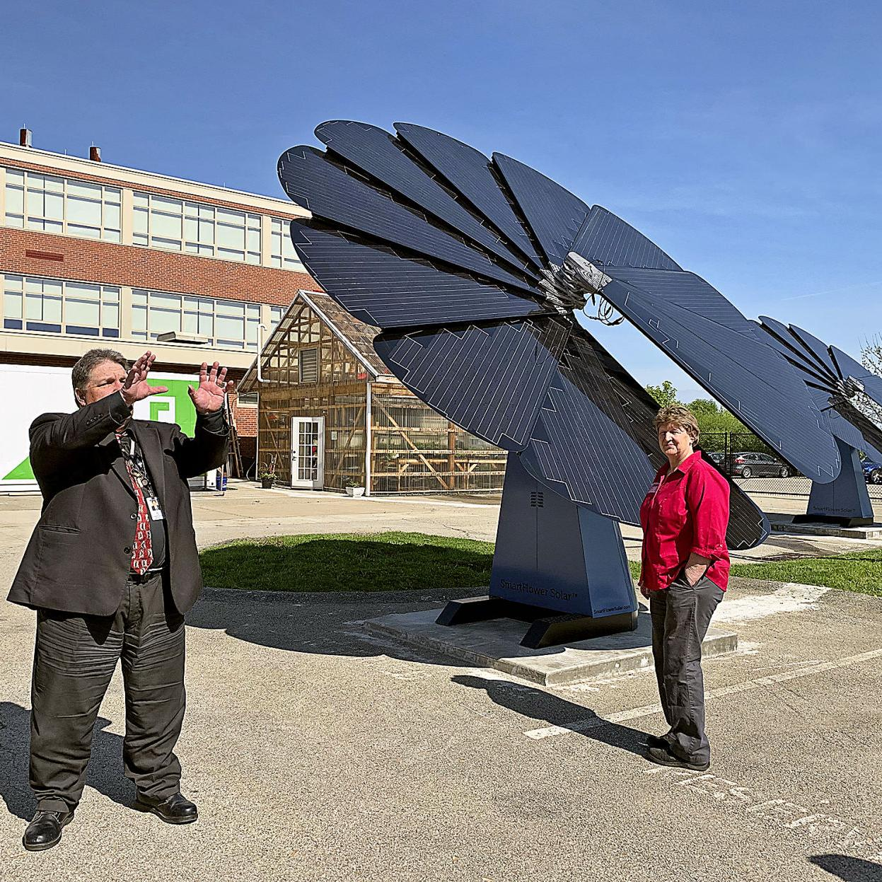 Winds of change at Trinity: School district installs wind turbines
