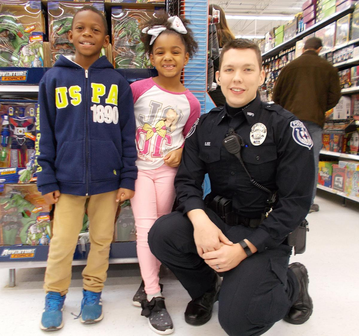 Shop with a Cop - Whitlock