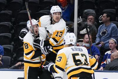 Penguins Islanders Hockey