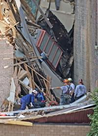 Owners of collapsed downtown building face citations on other properties