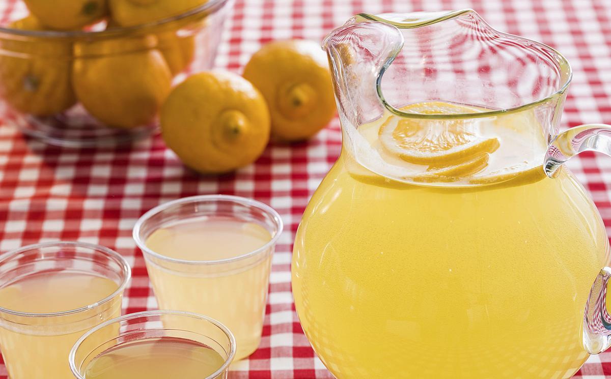 Lemons stock shot