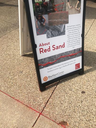 Red Sand Project  sheds light on human trafficking