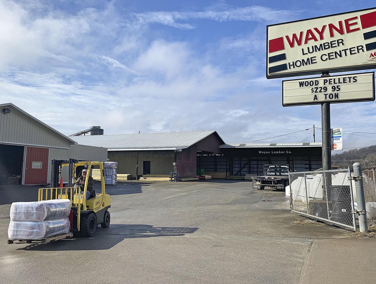 Wayne Lumber exterior