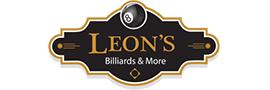Logo for Leon's Billiards & More