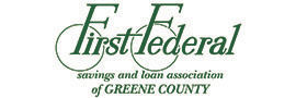 Logo for First Federal Savings and Loan