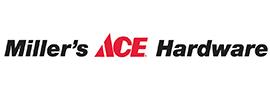 Logo for Miller's Ace Hardware
