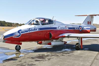 Snowbirds fly into Ocean City to talk about June show