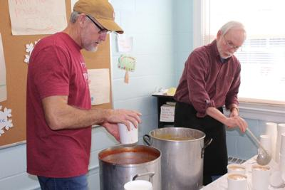 AUMC soup and sandwich fundraiser lunch continues