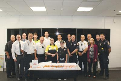 Carach delivers doughnuts, thanks to OCPolice Dept.