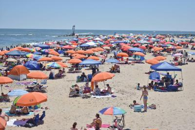 OC Beach Patrol keeps busy during Memorial Day wknd.