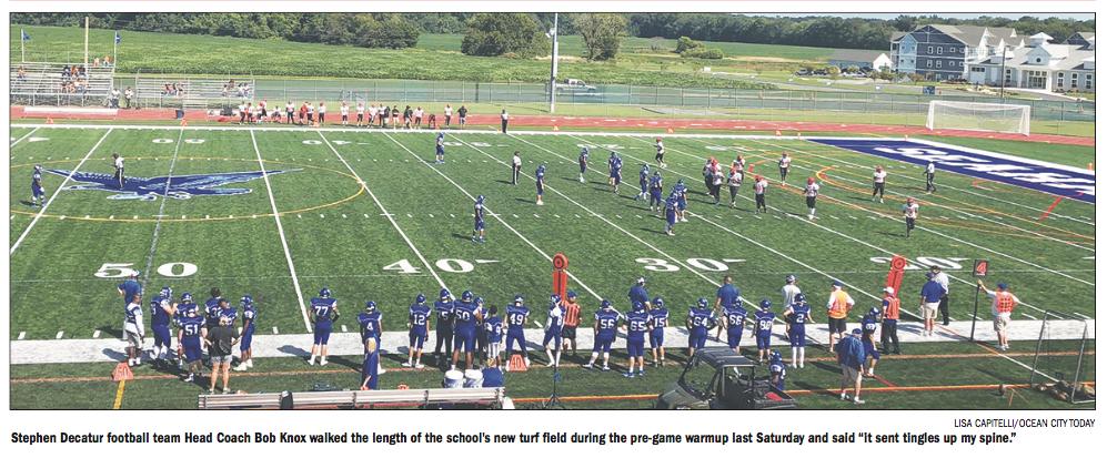 SD football field 91319