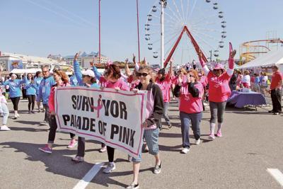 Komen 'More Than Pink' Walk on OC Boardwalk, Sat.
