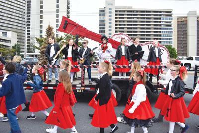 Christmas parade in OC, Saturday