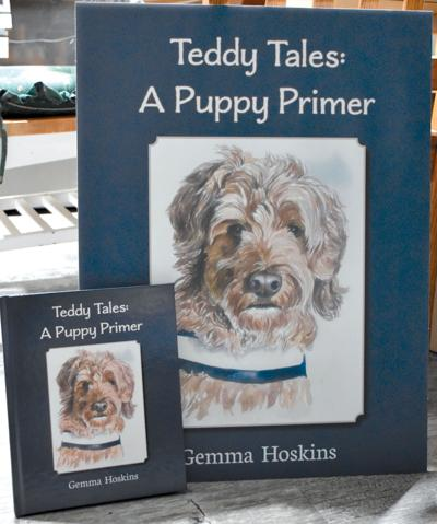 Hoskins expands scope with 'Teddy Tales: Puppy Primer'