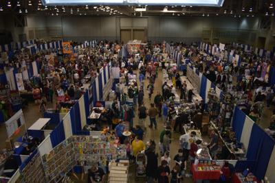 Comic Con sees over 6,000 attendees, largest one yet