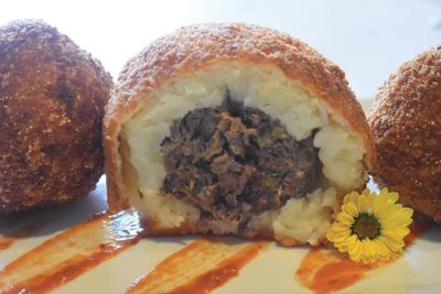 Meatloaf fritters