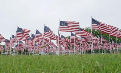 Flags for Heroes will fly at OP Veterans Memorial Park