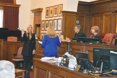 Heiser sworn in as county's state's atty.