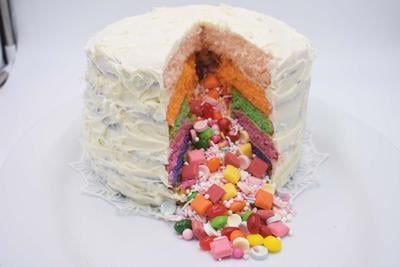 Easter Cake with a Surprise
