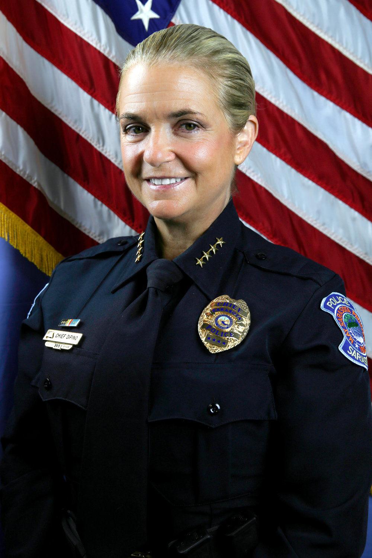 Police Chief Bernadette DiPino