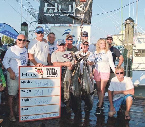 OC Tuna Tournament stringer weight 2017 winner