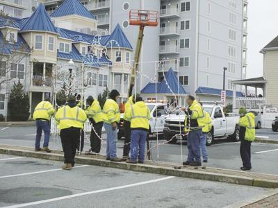 Ocean City Downtown Association installation