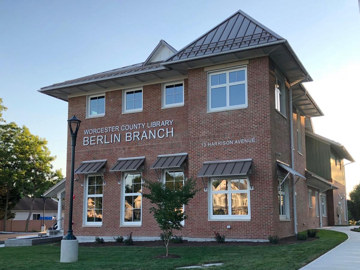 Berlin library exterior