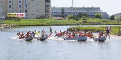 annual canoe races