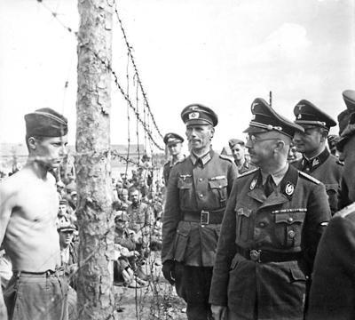 138 Himmler inspecting a prisoner of war camp