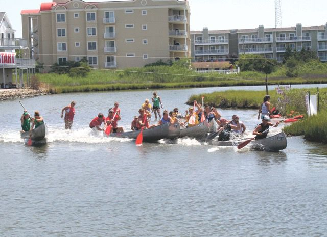 BJ's canoe races 2017