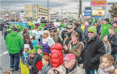 St. Patrick's Day parade in Ocean City this Saturday