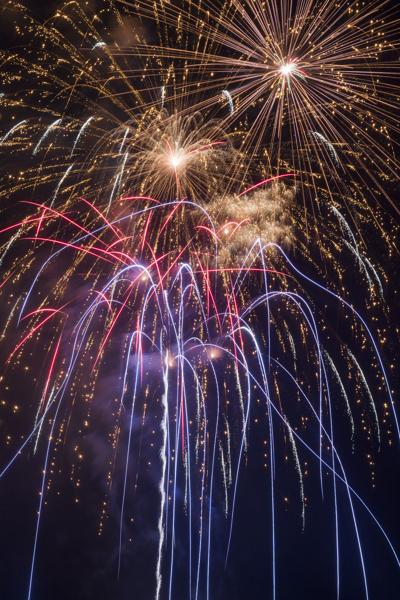 Fireworks, music for New Year's Eve at Northside Park