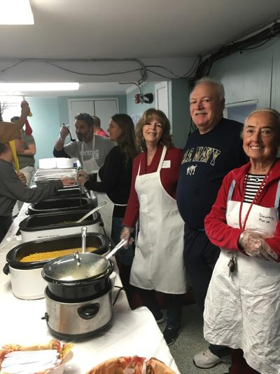 Churches in Ocean City, Berlin serving Thanksgiving meal
