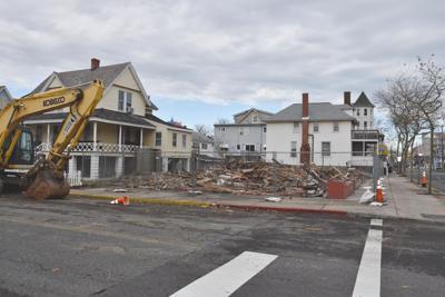 Taylor House razed