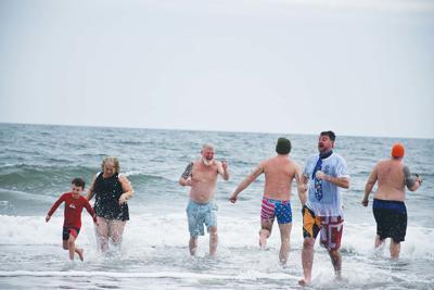 Special Olympics advocates take icy plunge