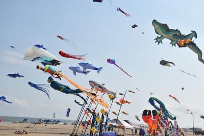 Kite Festival kicks off, with several children's games