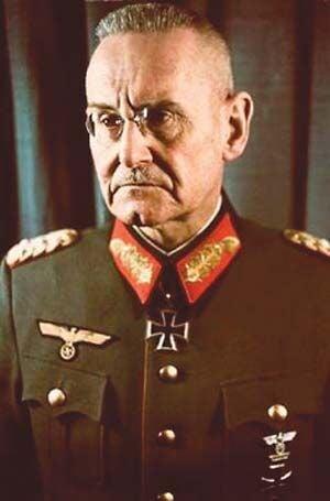 Army Chief, General Franz Halder