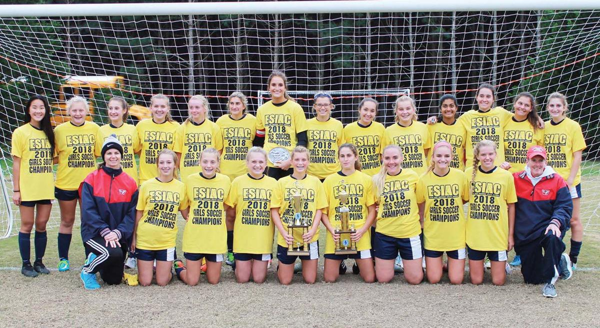 WP girls soccer team champs