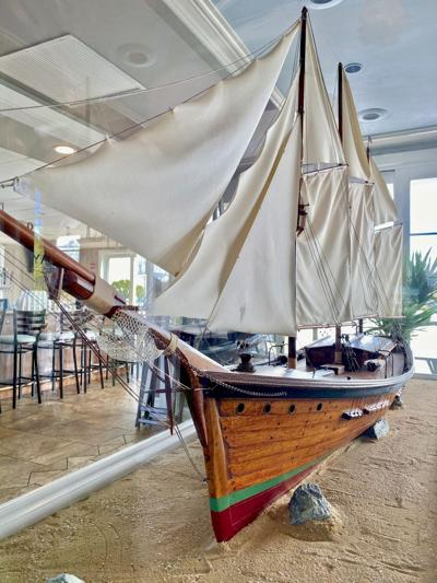 Model ship takes windy path back to OP Yacht Club